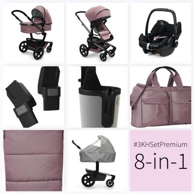 JOOLZ Day+ Kinderwagen #3KHSet 8in1, Premium Pink (mit Maxi Cosi)