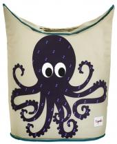 3 sprouts Wäschekorb, Octopus
