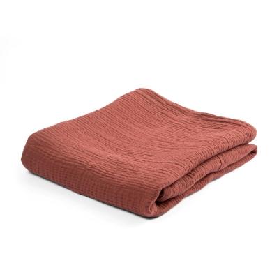 Sebra Decke, Burgundy Red