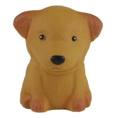 HEVEA Greifling aus Naturkautschuk, Hund Pudel