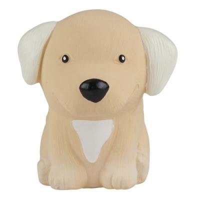 HEVEA Greifling aus Naturkautschuk, Hund Golden Retriever