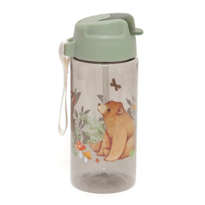 Petit Monkey Strohhalm-Flasche, Bear and his friends