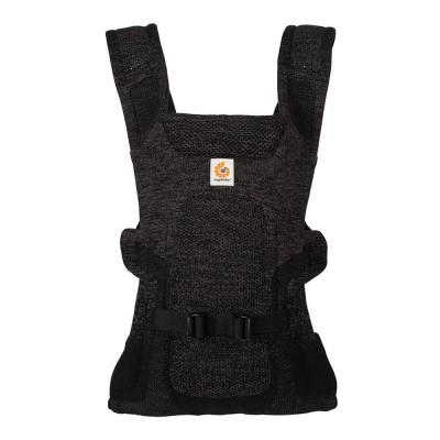 Ergobaby Aerloom Babytrage, Charcoal/ Black