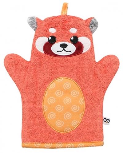ZOOCCHINI Waschhandschuh, Remi der rote Panda