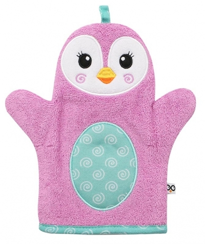 ZOOCCHINI Waschhandschuh, Penny der Pinguin