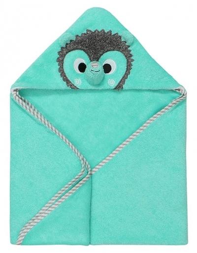 Zoocchini Baby Kapuzenbadetuch - Harriet der Igel