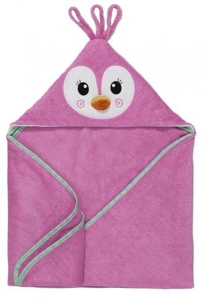 Zoocchini Baby Kapuzenbadetuch - Penny der Pinguin