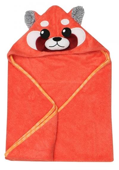 Zoocchini Baby Kapuzenbadetuch - Remi der rote Panda