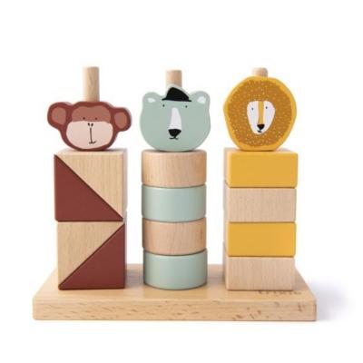 Trixie Holz Stapel-Spiel mit Tieren
