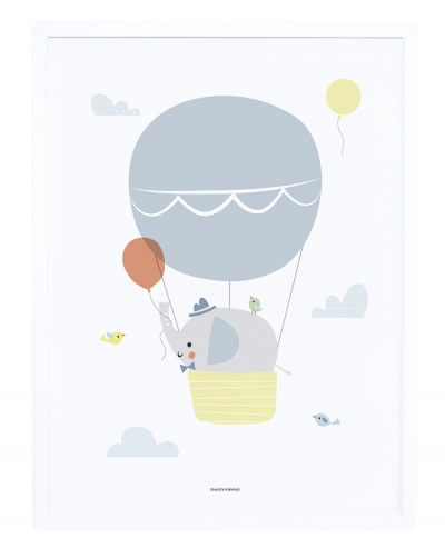 Lilipinso Poster mit Rahmen, Have a nice trip