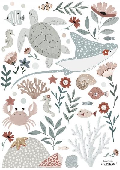 Lilipinso Wandsticker Dekoration, OCEAN DREAM