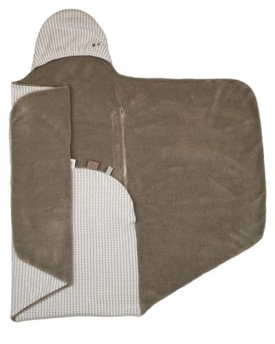 Snoozebaby Wickeldecke Trendy Wrapping, Warm Brown