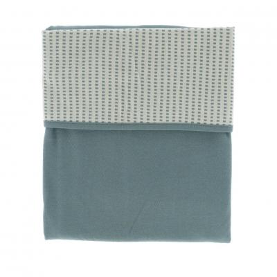 Snoozebaby Ultra-Soft Decke 100 x 150 cm, Smokey Green