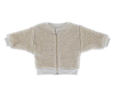 Riffle Amsterdam Jacke, Baumwoll-Pelz Off-White