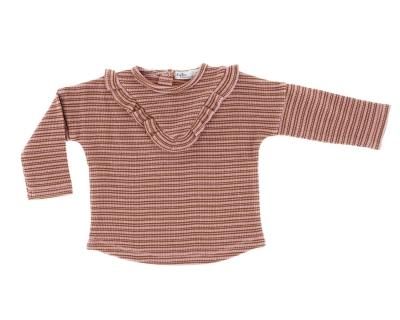 Riffle Amsterdam langarm Shirt Mary, Dusty Coral