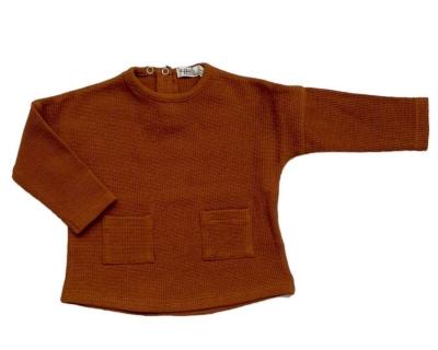 Riffle Amsterdam langarm Shirt, Toffee
