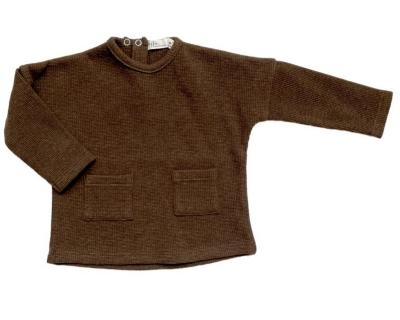 Riffle Amsterdam langarm Shirt, Braun