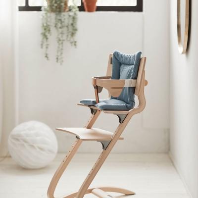Leander Sitzkissen für Classic Hochstuhl, Dusty Blue