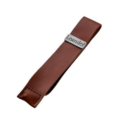 Leander Ledergurt für Sicherheitsbügel, Braun