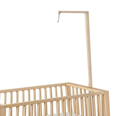 Leander Himmelgestell für Linea Babybett, Buche Natur