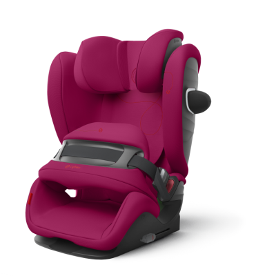 Cybex Pallas G i-Size Kindersitz, Magnolia Pink