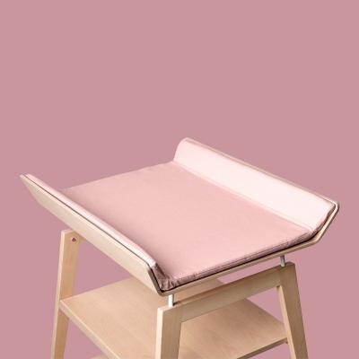 Leander Bezug für Linea Wickelauflage, Soft Pink