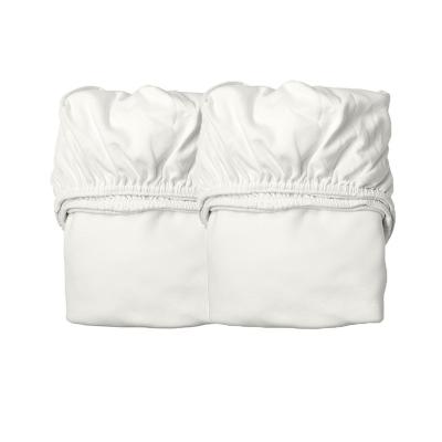 Leander Fixleintuch (2 Stk. für Classic Bett, 120x60cm), Snow