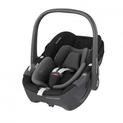 Maxi Cosi Pebble 360 Babyschale, Essential Black
