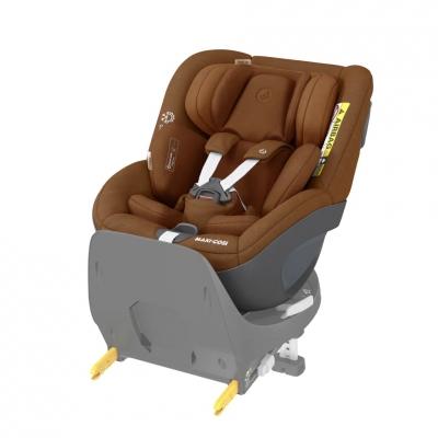 Maxi Cosi Pearl 360 i-Size Reboard-Autositz, Authentic Cognac