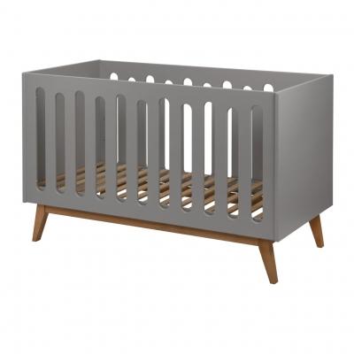 Quax Trendy Babybett 140 x 70 cm, Griffin Grey
