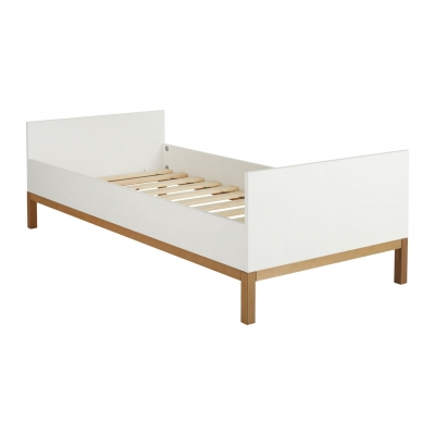 Quax Indigo Juniorbett 90 x 200 cm, Weiss
