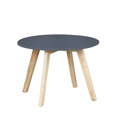 Quax runder Kindertisch, Grau