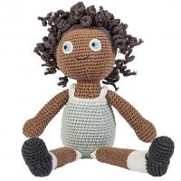 Sebra Häkel-Puppe, Lilly