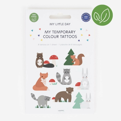 My Little Day Kinder-Tattoos, Mini Forest