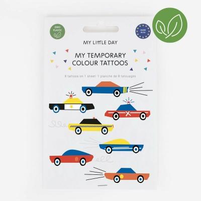 My Little Day Kinder-Tattoos, Autos