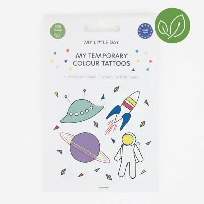 My Little Day Kinder-Tattoos, Kosmos