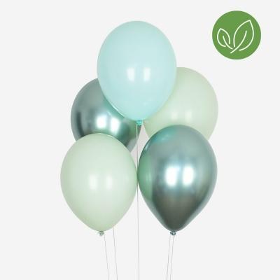 My Little Day Luftballone aus Latex, all green balloons