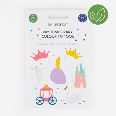 My Little Day Kinder-Tattoos, Prinzessin