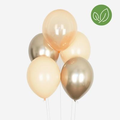 My Little Day Luftballone aus Latex, all peach balloons