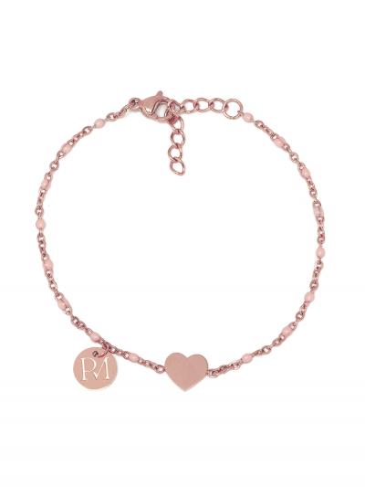 Proud MaMa MAM Armband, Rosé Herzen