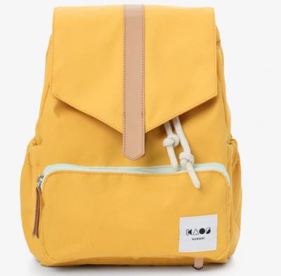 KAOS Kinder Rucksack, Yellow