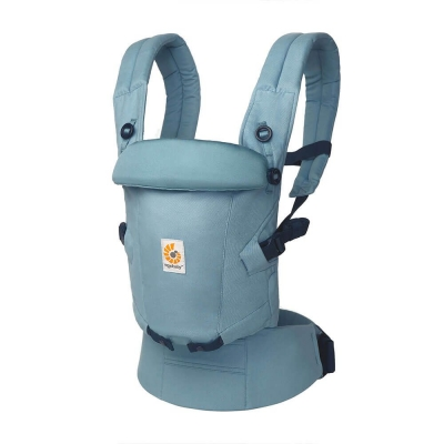 Ergobaby Adapt SoftTouch™ Cotton Babytrage, Slate Blue