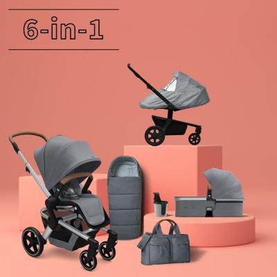 JOOLZ Hub+ Kinderwagen #3KHSet 6-in-1, Gorgeous Grey