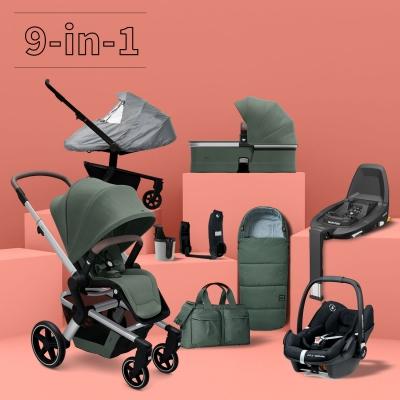 JOOLZ Hub+ Kinderwagen #3KHSet 9-in-1, Marvellous Green