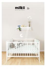 Milkii Baby- & Kinderbett Niiko, 140 x 70 cm