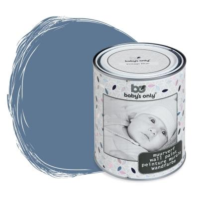 Babys only Wandfarbe, Vintage Blue - 1 Liter