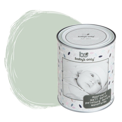 Babys only Wandfarbe Ash Mint - 1 Liter