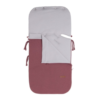 Babys only Sommer Fußsack Autositz 0+ Classic, Stone Red