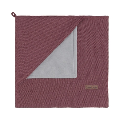 Babys only Kapuzendecke soft Classic, Stone Red