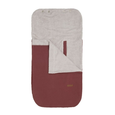 Babys only Sommer Fusssack Autositz 0+ Breeze, Stone Red